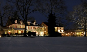 1 Night For Two In A Deluxe Queen Room With A $20 Dining Credit At Joseph Ambler Inn In North Wales, Pa