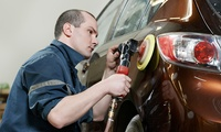 Rim Scratch Removal with Paint Restoration or Dent and Scratch Removal for One Car Panel at Atlantis Auto Care (50% Off)