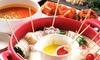 チーズ串鍋など食べ放題+飲み放題120分