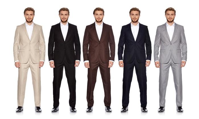 costume pour homme groupon shopping. Black Bedroom Furniture Sets. Home Design Ideas