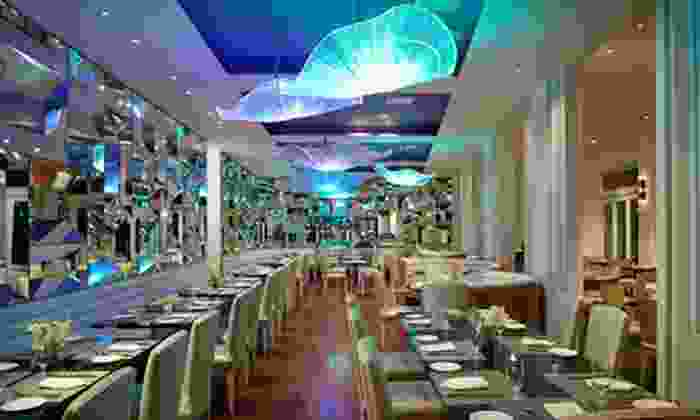 Atlantica @ The Allegria - Long Beach, NY: $49 for $100 Worth of New American Cuisine and Seafood for Two or More at Atlantica @ The Allegria