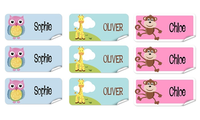 up to 77 off personalized childrens name labels