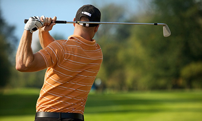 Bartley Cavanaugh Golf Course and Bing Maloney Golf Course - Multiple Locations: $40 for Two Rounds of Golf with Cart at Bartley Cavanaugh Golf Course and Bing Maloney Golf Course (Up to $92 Value)