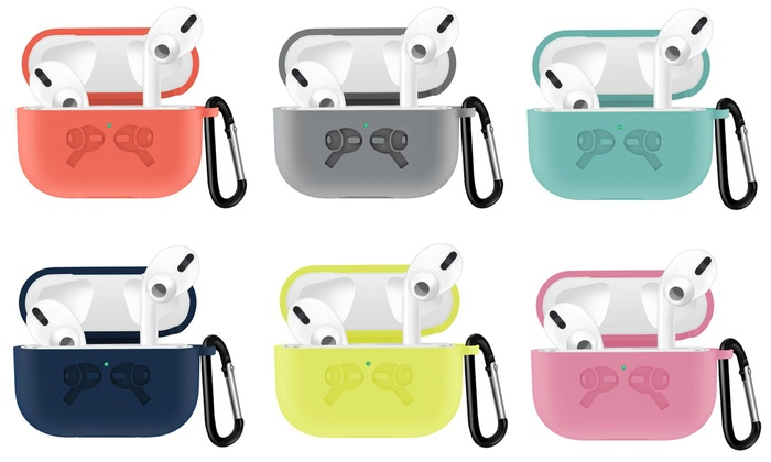 Up To 65 Off On Charging Case For Airpods Pro Groupon Goods