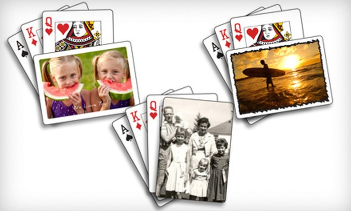 The Playing Card Factory - Mississauga: $19 for Three Decks of Custom Playing Cards from The Playing Card Factory (Up to $59.91 Value)