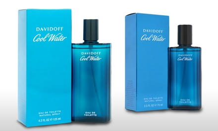 Zino Davidoff Cool Water Men's Eau de Toilette; 2.5 or 4.2 Fl. Oz.