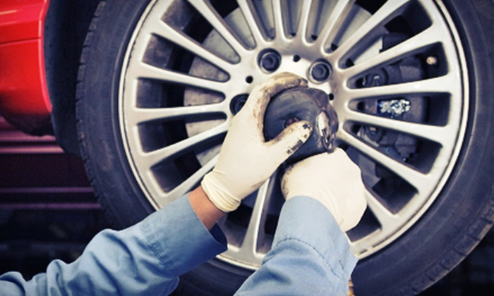 Leete Tire & Auto Center - Multiple Locations: Up to $200 Toward Tires, Wheels, and Installation at Leete Tire & Auto Center, Inc. Two Options Available.