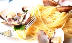 Ristorante I D'avino: Menu di pesce di 2 o 4 portate e vino al Ristorante I D'Avino (sconto fino a 69%)