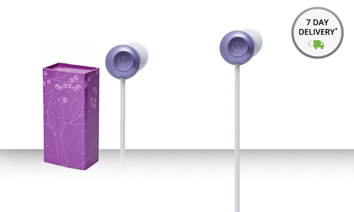 Audio-Technica FashionFidelity Bloom In-Ear Headphones: Audio-Technica FashionFidelity Bloom In-Ear Headphones(ATHCKF300PL). Free Returns.