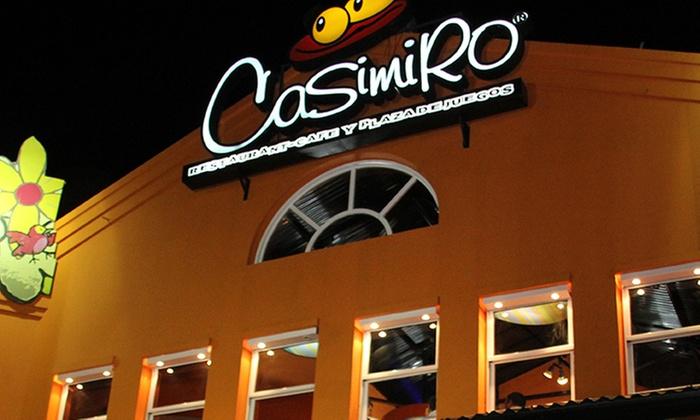 Casimiro: Pase libre con almuerzo, merienda o cena para 1, 2, 4 o 6 niños en Casimiro