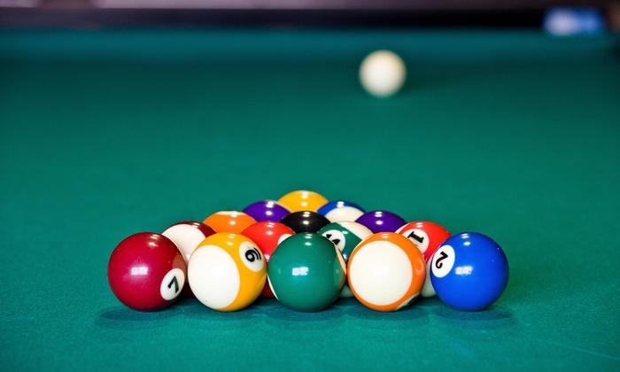 Pool Billiards For Purchase American Billiards Groupon - Us billiards pool table