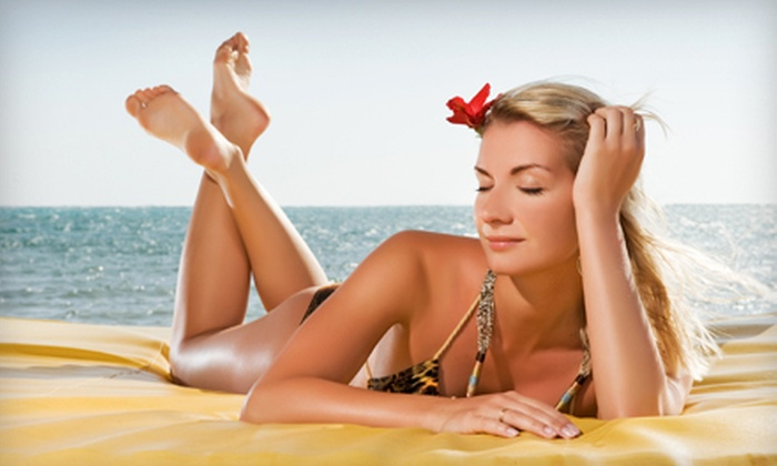 LAVA Beauty Studio - Newton: Three or Five Spray Tans at Lava Beauty Studio (Up to 58% Off)