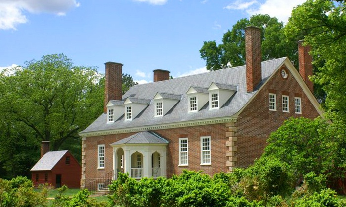 Gunston Hall - Lorton: Home and Grounds Visit for Two or Five Adults at Gunston Hall (Up to 50% Off)