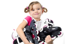 Landmark Skate and Fun Center: Roller Skating and Rental for Two or Four, or Party for 18 at Landmark Skate and Fun Center (Up to 53% Off)