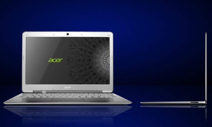 """Acer Ultrabook 13.3"""" Laptop (S3-391-6046): $329.99 for an Acer Ultrabook 13.3"""" Laptop (S3-391-6046) (Refurbished) ($499 List Price). Free Shipping and Returns."""