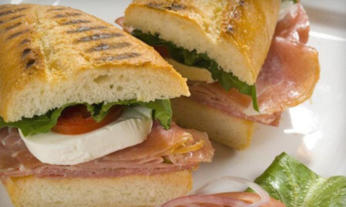 Massa Italian Cafe & Gelateria - Elmwood Park: $7 for $15 Worth of Italian Food, Drinks, and Gelato at Massa Italian Cafe & Gelateria
