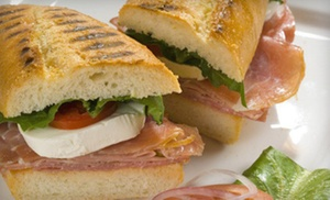 Massa Italian Cafe & Gelateria: $7 for $15 Worth of Italian Food, Drinks, and Gelato at Massa Italian Cafe & Gelateria