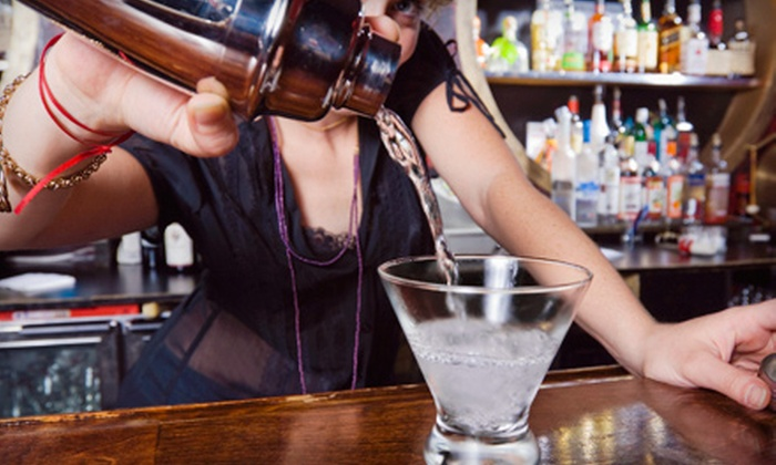 123 Bartending - Colonial Town Center: 40-Hour Bartending Course for One or Two at 123 Bartending (Up to 67% Off)