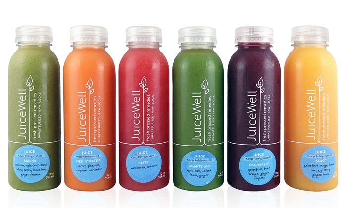 JuiceWell - Multiple Locations: Three- or Five-Day Juice Cleanse from JuiceWell (Up to 36% Off)