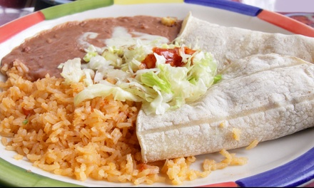 Mexican Food and Drinks at La Puente Ogden (60% Off). Two Options Available.