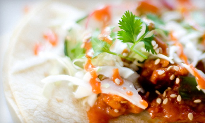 Taco Sherpa - Downtown Chattanooga: $5 for $10 Worth of Korean Tacos and Rice Bowls from Taco Sherpa