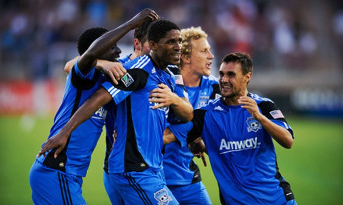 San Jose Earthquakes - Multiple Locations: $79 for a Ticket Package for Two with T-Shirts to See San Jose Earthquakes on June 30 and July 31 (Up to $193.98 Value)