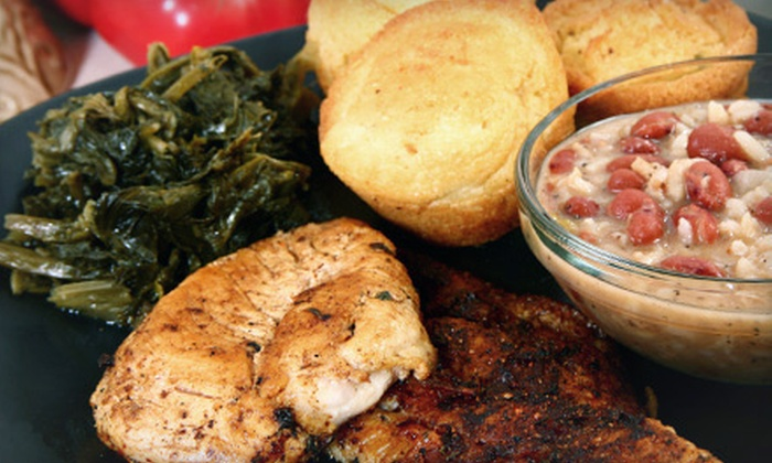 Mama Lee's Soul Food - Springvale: Soul Food at Mama Lee's Soul Food (Half Off). Two Options Available.