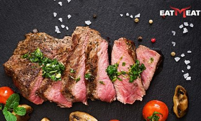 image for Steak with Side and Drink for Two or Four at Eat Meat (Up to 42% Off)