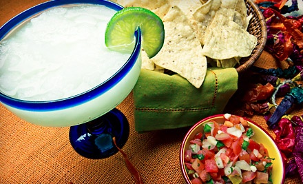 Mexican Food, Sandwiches, and Drinks at Margarita Rocks (Half Off). Two Options Available.