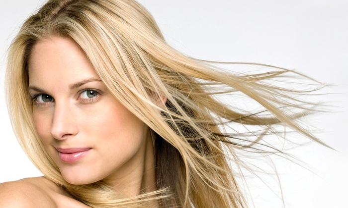 Body Bliss Salon & Spa - Wake Forest: Cut with Optional Partial Highlights, Partial Lowlights, or Base-Color Retouch at Body Bliss Salon & Spa (Up to 55% Off)