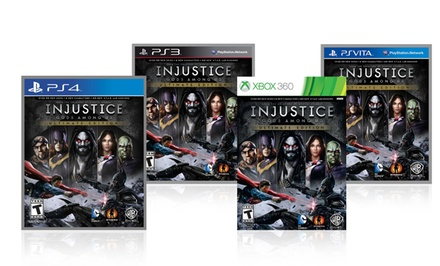 Injustice: Gods Among Us Ultimate Edition. Multiple Console Versions. Free Returns.