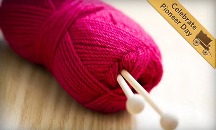 Kamille's - West Jordan: Knitting or Crocheting Classes of Any Level for One or Two at Kamille's in West Jordan (Up to 58% Off)