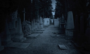 Afterlife Tours, Inc.: Moonlit Cemetery Tour Admission for One or Two from Afterlife Tours, Inc. (Up to 52% Off)