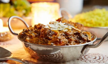 Indian Cuisine at Clay Oven Indian Restaurant (Up to 45% Off). Two Options Available.