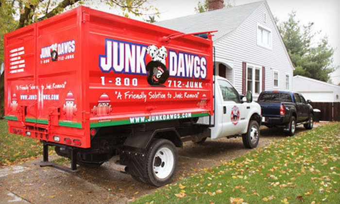 Junk Dawgs - Speedway: $79 for $180 Worth of Junk-Removal Services from Junk Dawgs