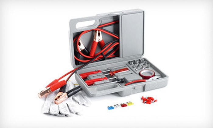 31-Piece Roadside Emergency Kit: $22 for a 31-Piece Roadside Emergency Kit ($29.99 List Price). Free Shipping and Free Returns.