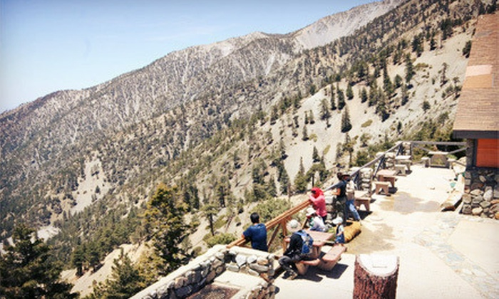 Mt. Baldy - Mt. Baldy: Scenic Lift Ride and Lookout Lunch for Two or Four at Mt. Baldy (Up to 61% Off)
