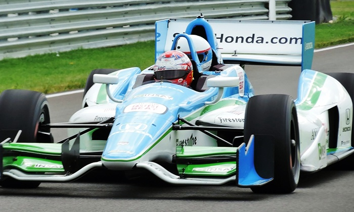 Indy Racing Experience - Indianapolis Motor Speedway: Two-Lap Ride-Along Experience for One or Two from Indy Racing Experience (Up to 50% Off)