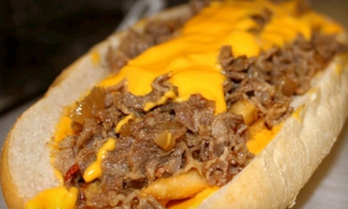 Chubby's Cheesesteaks - Lower East Side: Cheesesteaks, Sandwiches, and Other American Fare for Two or Four at Chubby's Cheesesteaks (Half Off)