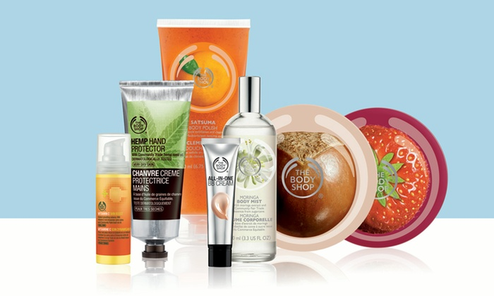 The Body Shop - Santa Rosa Plaza: $10 for $20 Worth of Ethical Skincare, Makeup, Hair, and Body Products at The Body Shop