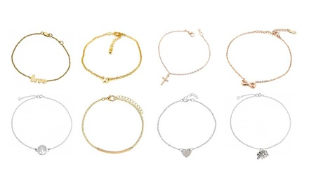 One or Two Eight-Piece Anklet Sets