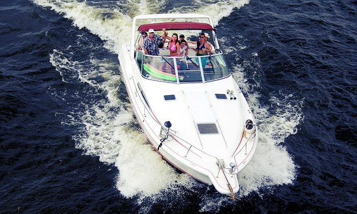 Captain Mike Fink's Marina - Multiple Locations: Two- or Four-Hour Boat Rental or Five-Hour Luxury Cruiser Rental from Captain Mike Fink's Marina (Up to 52% Off)