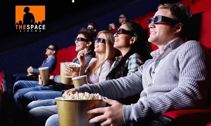 Groupon: The Space Cinema - Un biglietto per spettacoli 2D e 3D valido in tutti i multisala del circuito a 5 €