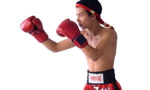 Team Rey`s: Four- or Eight-Week Introductory Muay Thai Program for Kids Aged 6–12 at Team Rey`s (Up to 70% Off)