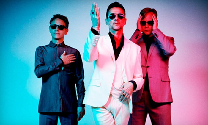 Depeche Mode: The Delta Machine Tour - Aaron's Amphitheatre at Lakewood: $28.88 to See Depeche Mode at Aaron's Amphitheatre at Lakewood on September 12 at 7:30 p.m. (Up to $38.50 Value)