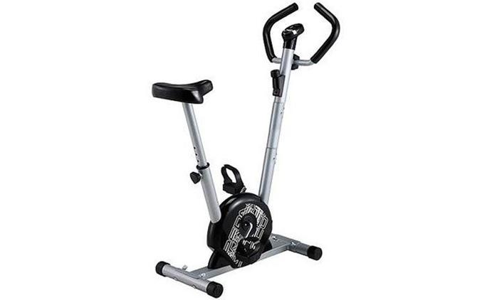 אופני כושר V-life קומפקטיים בעלי לוח תצוגה דיגיטלי וגלגל תנופה עד 5 ק''ג