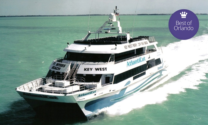Key West Express - Marco Island: $99 for One Round-Trip Key West Express Cruise from Marco Island ($147 Value)
