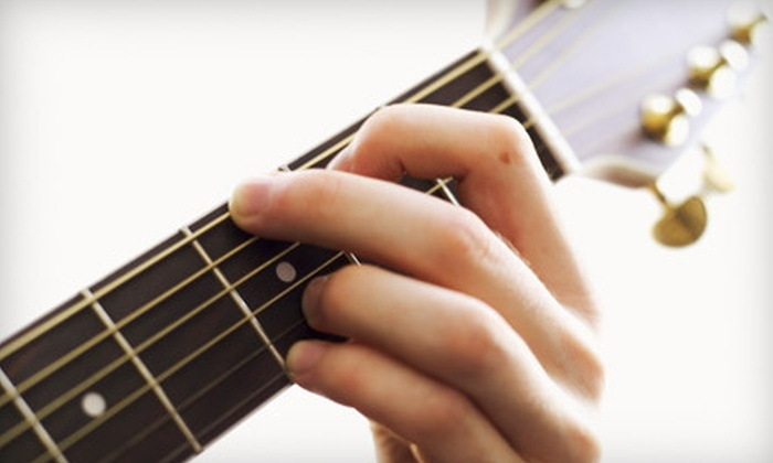 Tab's Guitar Lessons - East Lansing: $49 for Three One-Hour Private Guitar Lessons Plus Travel Fees from Tab's Guitar Lessons ($105 Value)