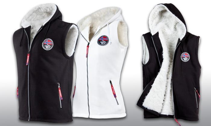 buy online 2ed15 d3b4f Nebulus Fell-Weste Hoody Body Fur   Groupon Goods
