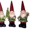 Set of 4 LED Christmas Collectible Figurines